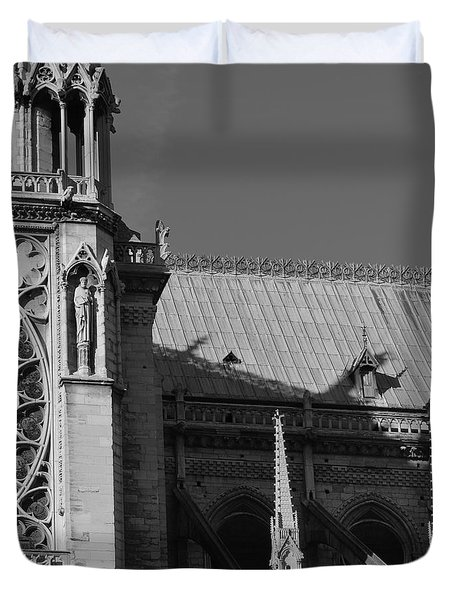 Paris Ornate Building Duvet Cover