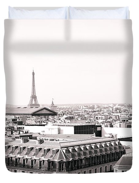Paris In The Afternoon Duvet Cover by Vivienne Gucwa