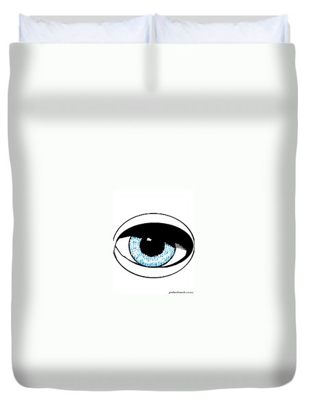 Paris Jackson - Colours 2 Duvet Cover by Mudiama Kammoh