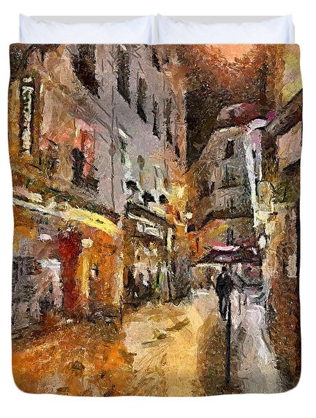 Paris St. Germain Duvet Cover by Dragica  Micki Fortuna