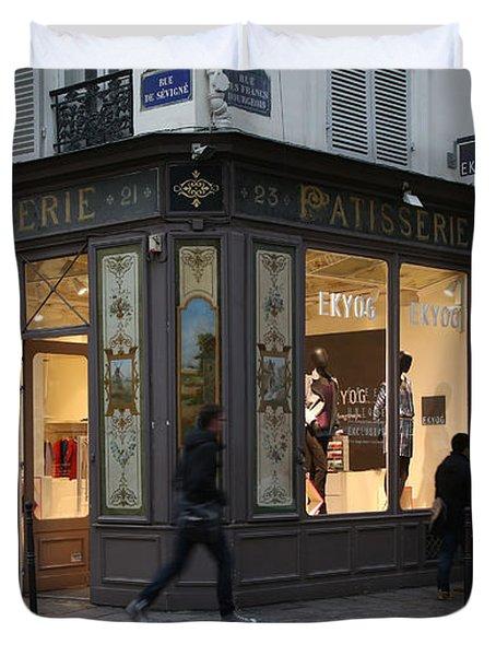 Parisian Evolution Duvet Cover by Randi Shenkman