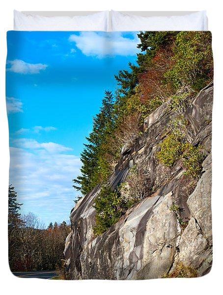 Park Road Duvet Cover by Melinda Fawver