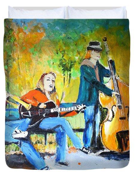 Park Serenade Duvet Cover by Judy Kay