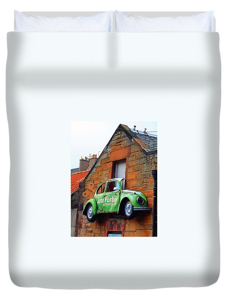 Parking Problem Duvet Cover by Richard James Digance