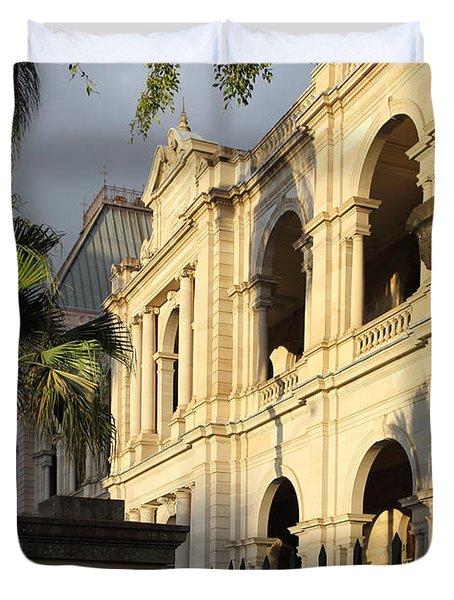 Parlament House In Brisbane Australia Duvet Cover