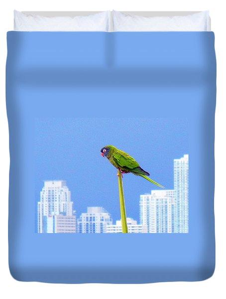 Parrot Duvet Cover by J Anthony