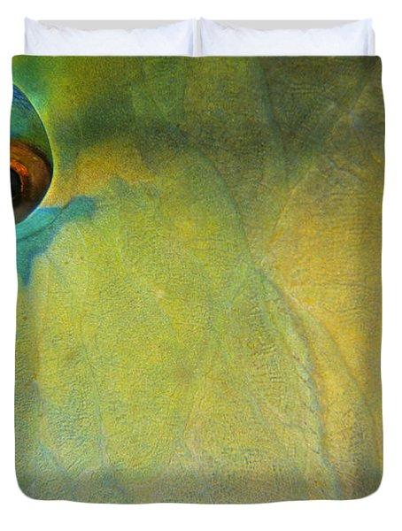 Parrotfish Duvet Cover