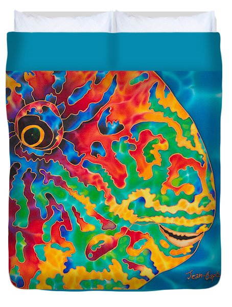 Parrotfish Duvet Cover