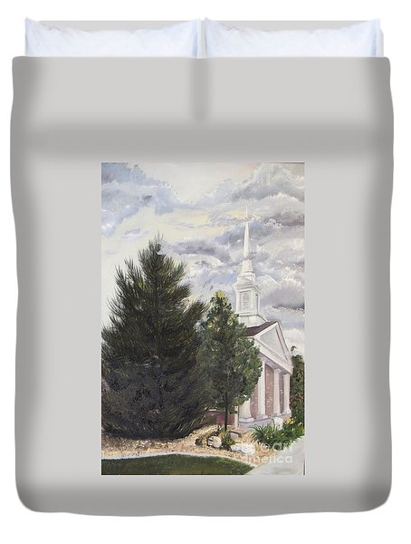 Parting Clouds Duvet Cover by Jane Autry