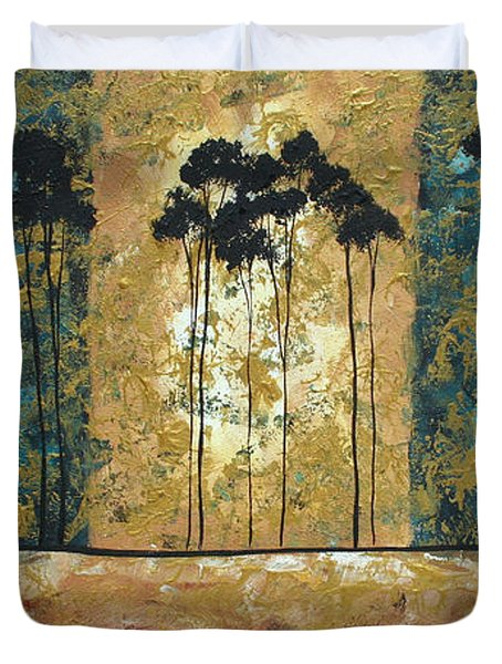 Parting Of Ways By Madart Duvet Cover by Megan Duncanson