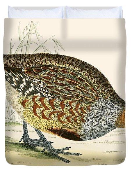 Partridge Duvet Cover