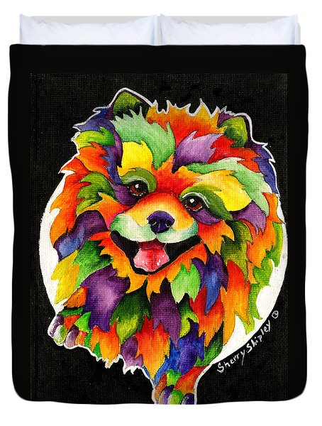 Party Pom Duvet Cover