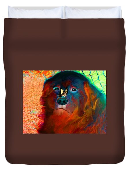 Party Pyrenees Duvet Cover