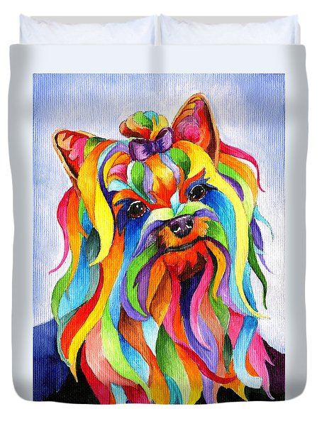Party Yorky Duvet Cover