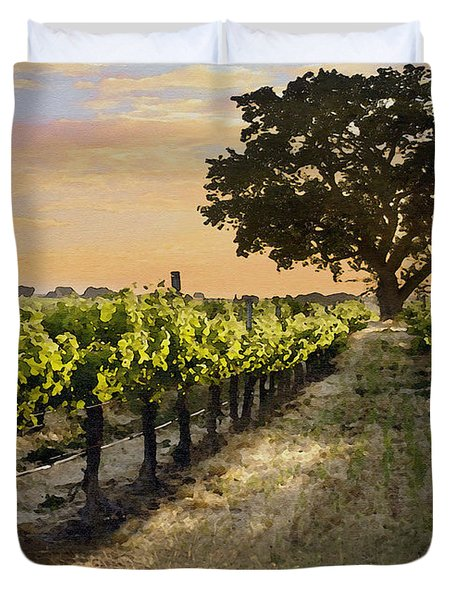 Paso Vineyard  Duvet Cover