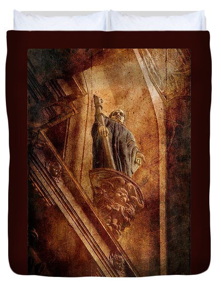 Passed In Glory Duvet Cover by Loriental Photography