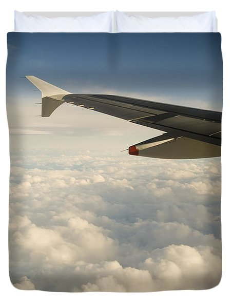 Passenger View Duvet Cover by Tim Hester