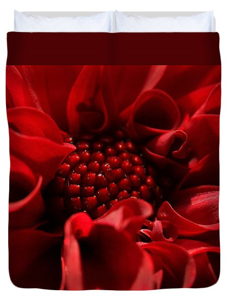Passion Duvet Cover by Connie Handscomb