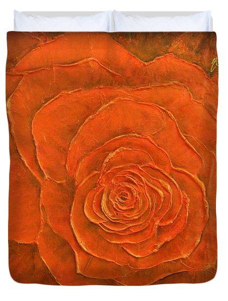 Passion II Duvet Cover by Elena  Constantinescu