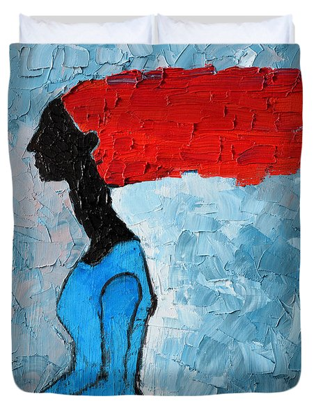 Passion Seeker Duvet Cover by Ana Maria Edulescu