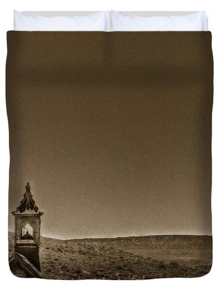 Past Duvet Cover by Margie Hurwich