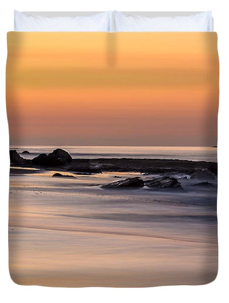 Past Meets Present By Denise Dube Duvet Cover