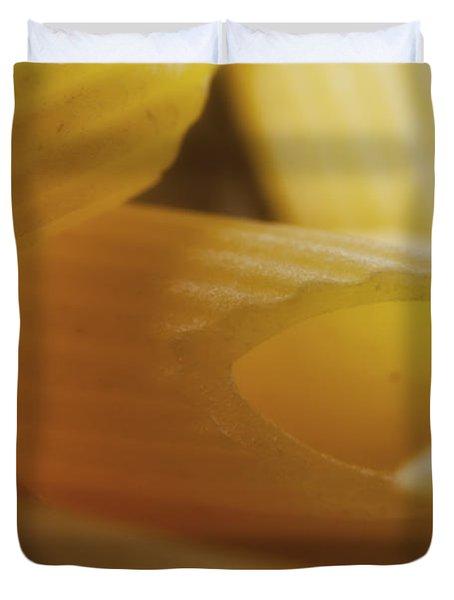 Pasta Macro Duvet Cover