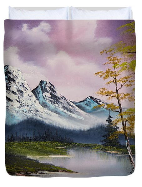 Pastel Fall Duvet Cover by C Steele