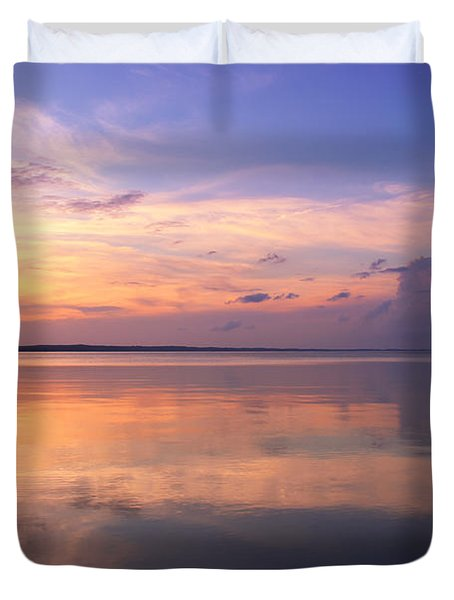 Pastel Majesty Duvet Cover by Rachel Cohen