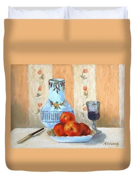 Pastel Study Duvet Cover