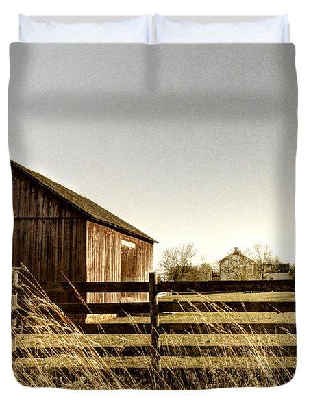 Pasture Duvet Cover by Margie Hurwich