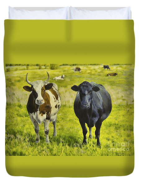 Pasture Duvet Cover by Veikko Suikkanen