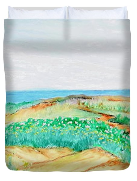 Path Of Blossom Duvet Cover