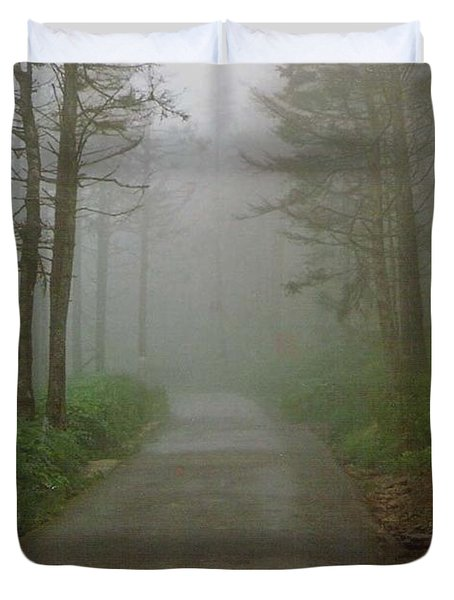 Path To Clingmans Dome Duvet Cover