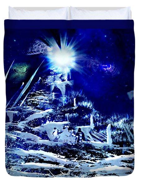 Path To Enlightment Duvet Cover