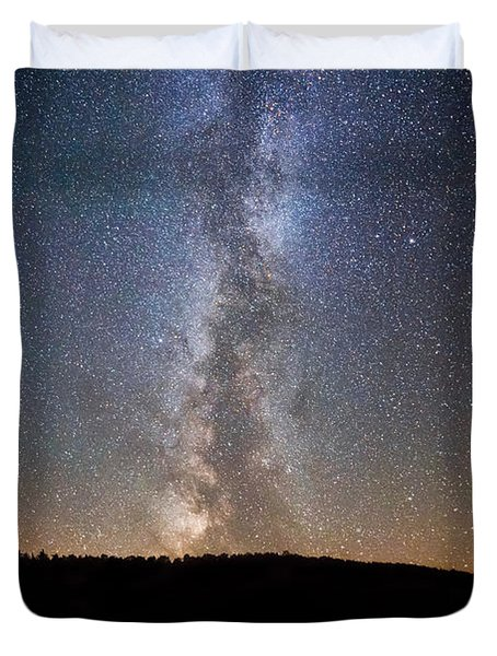 Path To Our Galaxy   Duvet Cover