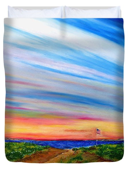 Paths To Independance Duvet Cover