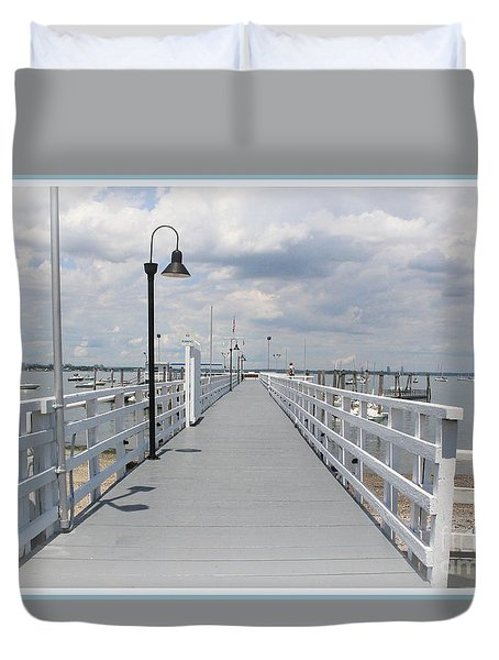 Pathway To The Clouds Duvet Cover