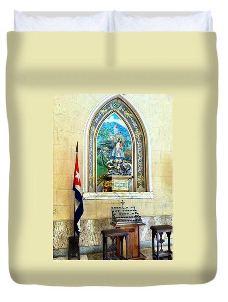 Patria Duvet Cover
