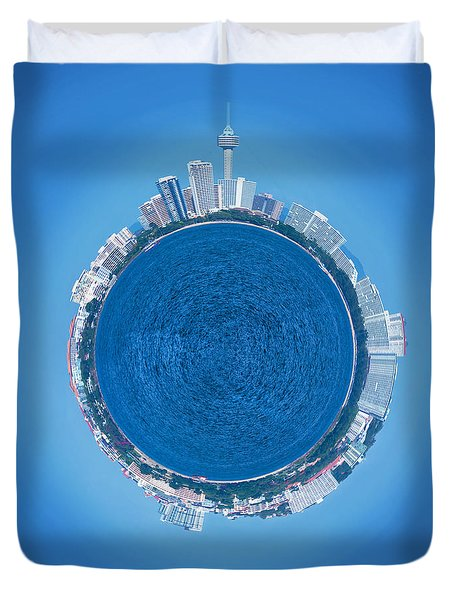 Pattaya World Duvet Cover by Atiketta Sangasaeng