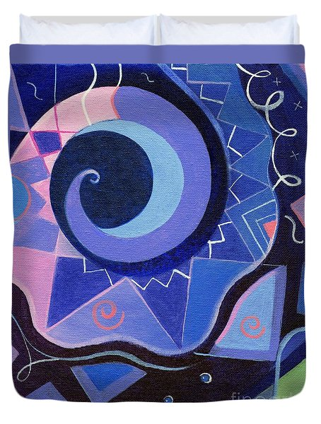 Pattern Power 2 Duvet Cover by Helena Tiainen