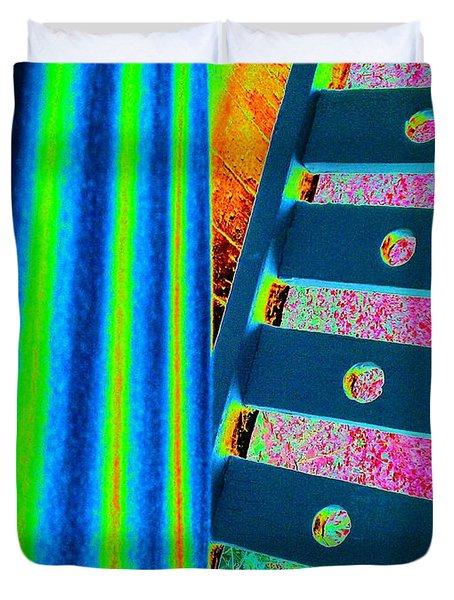 Patterns Duvet Cover by Jacqueline McReynolds