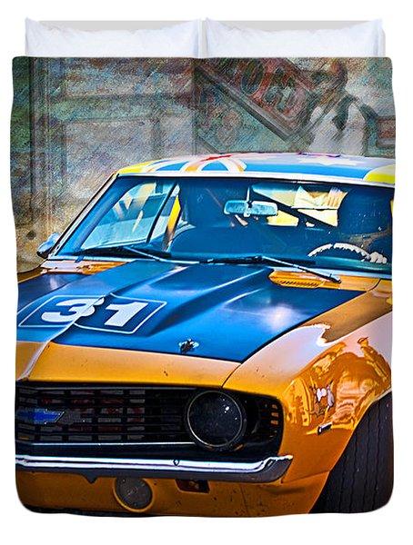 Paul Stubber Camaro Duvet Cover