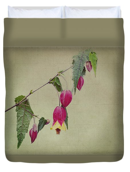 Paulette Duvet Cover by Elaine Teague