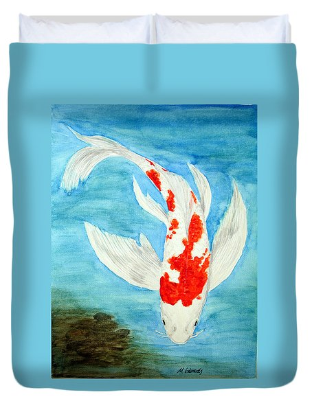 Paul's Koi Duvet Cover