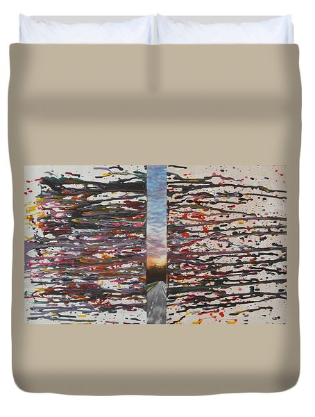 Pause Duvet Cover by Thomasina Durkay