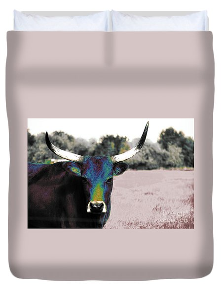 Pazzo Duvet Cover by Molly McPherson