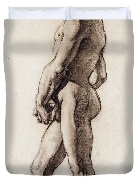 Male Nude Duvet Cover
