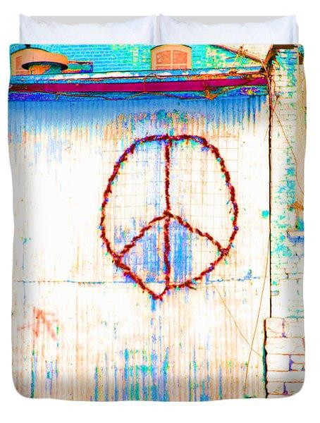 Peace 1 Duvet Cover
