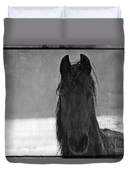 Peace In The Storm Duvet Cover